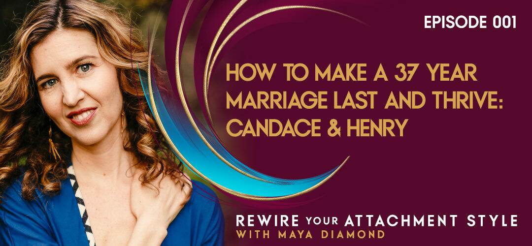 How to Make a 37 Year Marriage Last & Thrive: Candice & Henry / 001